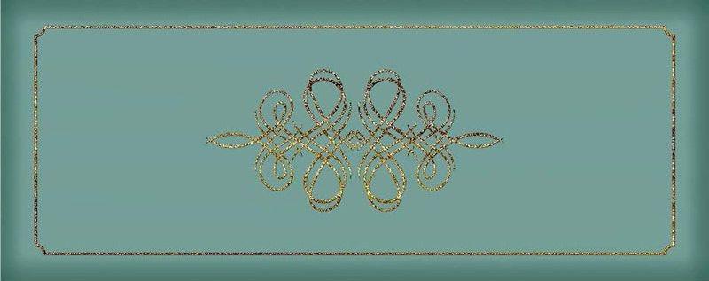 Керамический декор Керлайф Elissa Bello Mare 20,1х50,5 см bello 7460 b