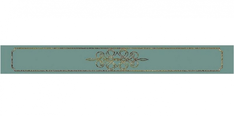 Керамический бордюр Керлайф Elissa Bello Mare 6,2х50,5 см bello 7610 b