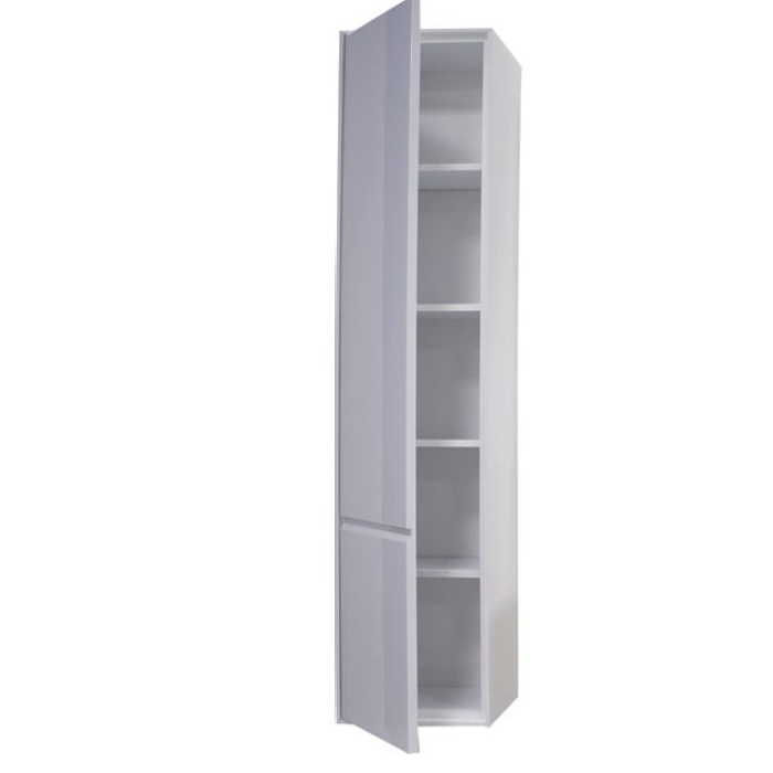 Шкаф пенал Roca Laks 37 ZRU9302802 R подвесной Белый глянцевый