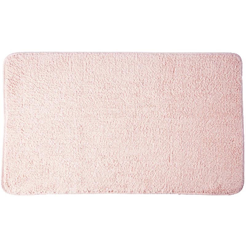 коврик противоскользящий joyarty композиция на песке для ванной сауны бассейна 75х45 см Коврик для ванной комнаты WasserKRAFT Vils BM-1011 Розовый