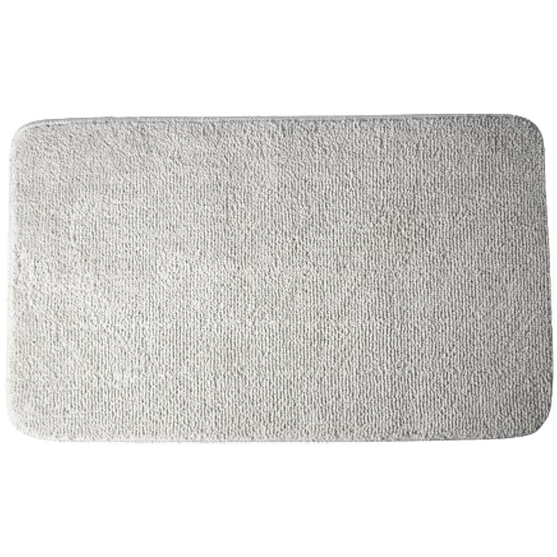 коврик противоскользящий joyarty композиция на песке для ванной сауны бассейна 75х45 см Коврик для ванной комнаты WasserKRAFT Vils BM-1021 Серый