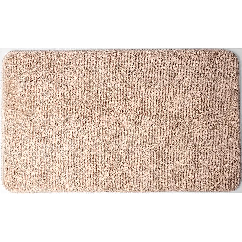 коврик противоскользящий joyarty композиция на песке для ванной сауны бассейна 75х45 см Коврик для ванной комнаты WasserKRAFT Vils BM-1031 Коричневый.