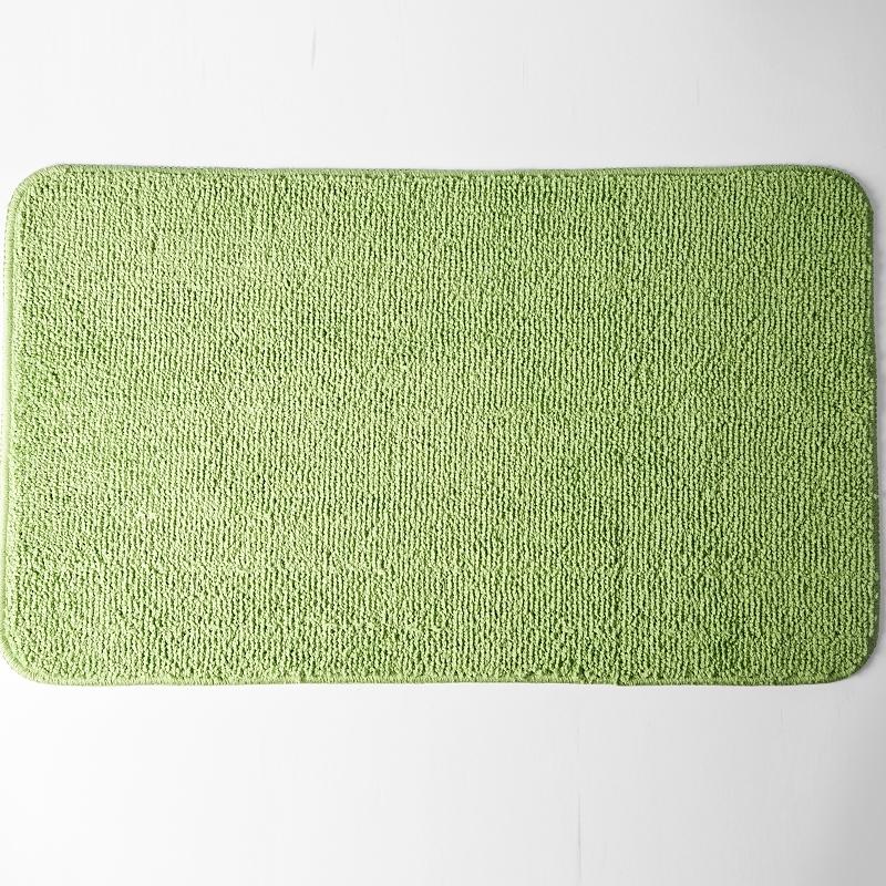 коврик противоскользящий joyarty композиция на песке для ванной сауны бассейна 75х45 см Коврик для ванной комнаты WasserKRAFT Vils BM-1001 Зеленый
