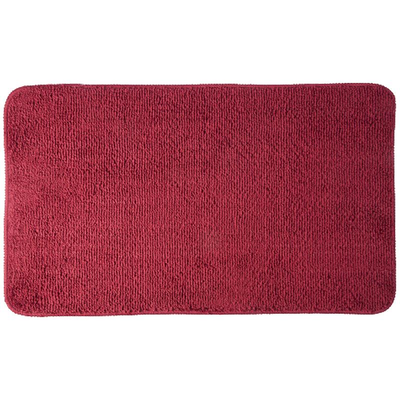 коврик противоскользящий joyarty композиция на песке для ванной сауны бассейна 75х45 см Коврик для ванной комнаты WasserKRAFT Vils BM-1051 Красный