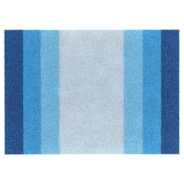 коврик противоскользящий joyarty композиция на песке для ванной сауны бассейна 75х45 см Коврик для ванной комнаты WasserKRAFT Lopau BM-1101 Полосы