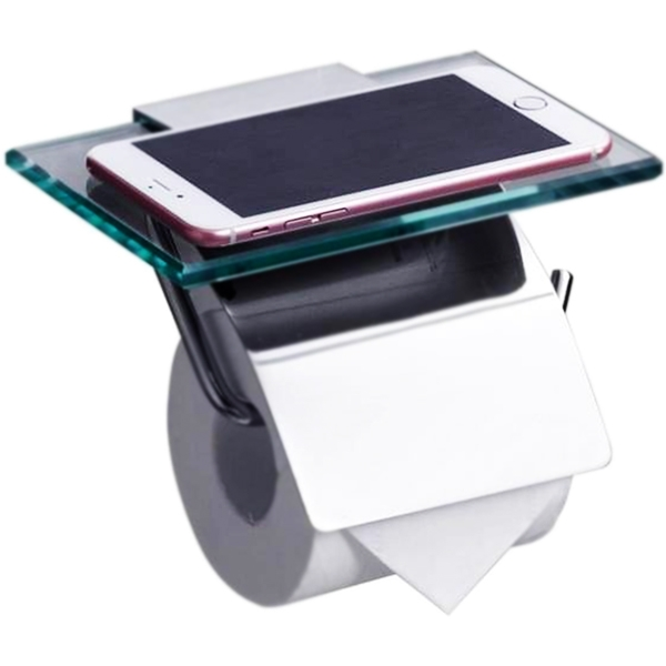 Держатель туалетной бумаги Rush Edge ED77131 Хром держатель туалетной бумаги rush balearic с крышкой хром ba39111