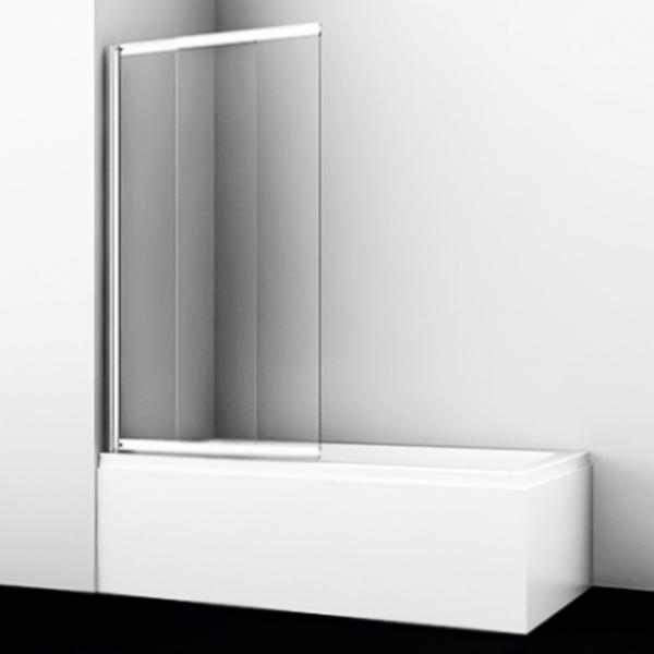 Шторка на ванну WasserKRAFT Main 80x140 41S02-80 Хром Прозрачная недорого