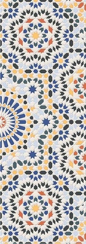 Керамическая плитка Керлайф Menara Decor настенная 25,1х70,9 см керамическая плитка керлайф aurelia crema настенная 20 1х50 5 см