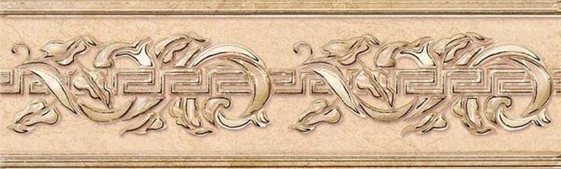 цена на Керамический бордюр Керлайф Eterna Beige 2 20,1х6,2 см