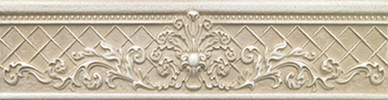 Керамический бордюр Керлайф Pietra Beige Arte 1 8х31,5 см