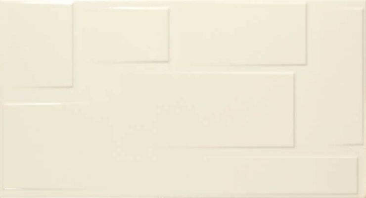 Керамическая плитка Fanal Blocks Rev. Crema Relieve настенная 32,5х60 см декор fanal people crema floral b 31 6x90 page 2