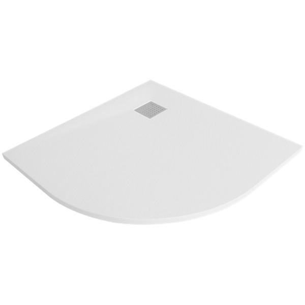 Душевой поддон из стеклопластика WasserKRAFT Main 90x90 41T01 с сифоном и трапом душевой поддон wasserkraft main 120x80 41t06