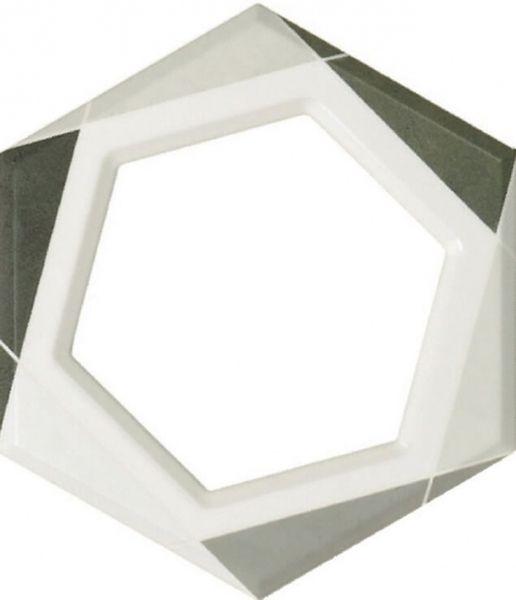 Керамическая плитка Fanal Lino Decor Frame Gris 24,7х21,5 см