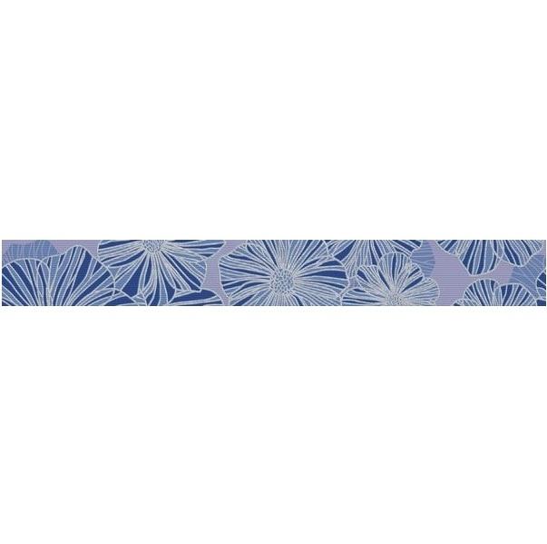 Керамический бордюр Керлайф Splendida Azul 6,2х50,5 см керамический бордюр gayafores scala azul 3х20 см