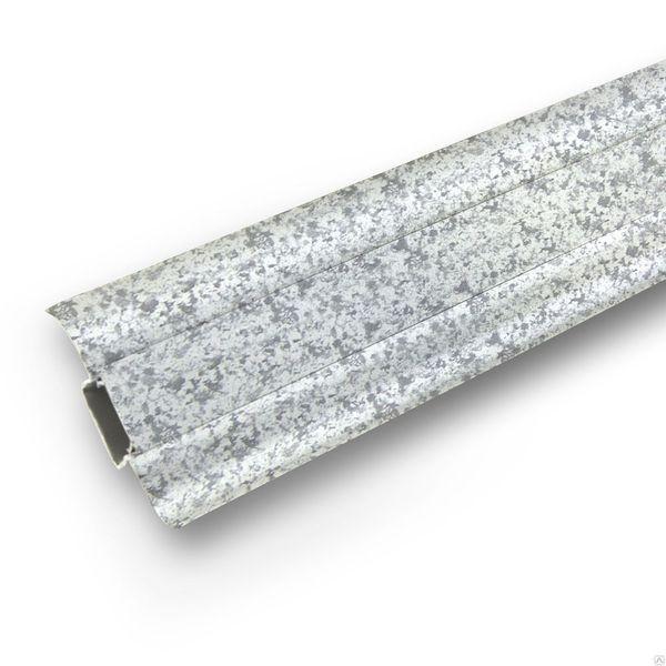 Плинтус Ideal Comfort Comfort с кабель каналом Камешки 171 2500х55х22 мм кабель