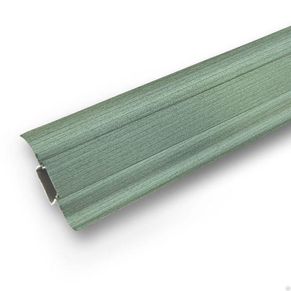 Плинтус Ideal Comfort с кабель каналом Зеленый 027 2500х55х22 мм