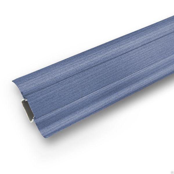 Плинтус Ideal Comfort с кабель каналом Синий 024 2500х55х22 мм