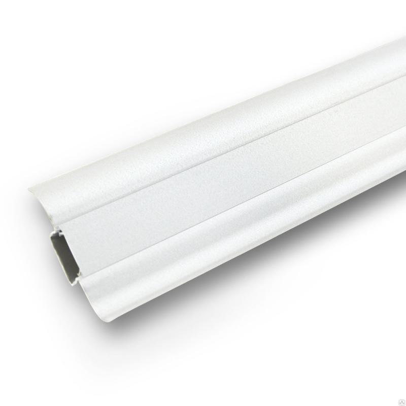 Плинтус Ideal Comfort с кабель каналом Белый 001 2500х55х22 мм кабель
