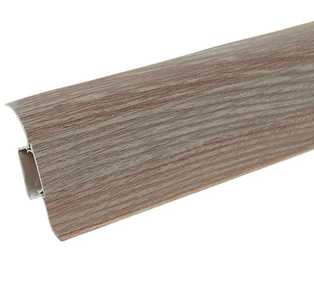 Фото - Плинтус Ideal Comfort с кабель каналом Дуб Кофейный 207 2500х55х22 мм кабель