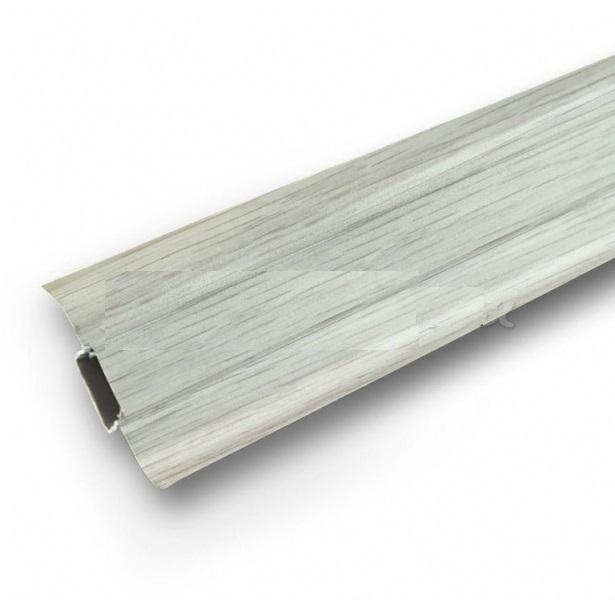 Плинтус Ideal Comfort с кабель каналом Клен Вермонт 262 2500х55х22 мм кабель