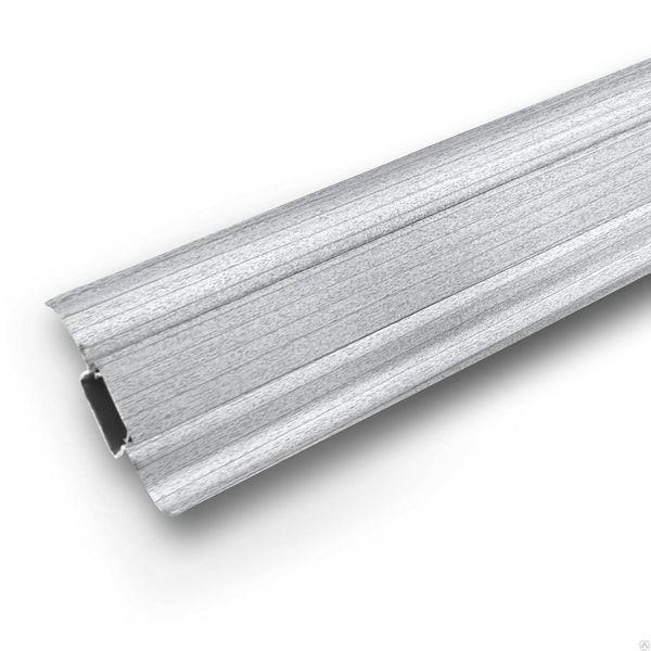 Плинтус Ideal Comfort с кабель каналом Ясень Серый 253 2500х55х22 мм