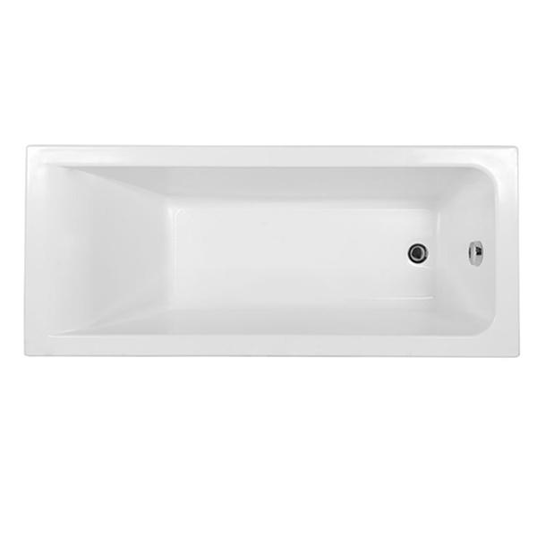 Акриловая ванна Aquanet Bright 175x75 без гидромассажа стол компьютерный мэрдэс стл овх с120прям в