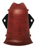 Угол наружный (комплект) Ideal Comfort Comfort К55-Нк в цвет плинтуса