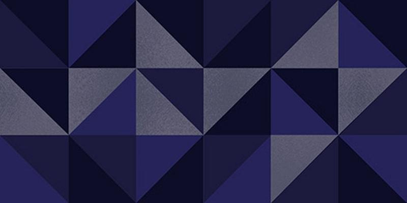Керамический декор Керлайф Stella Geometrico Blu 1C 31,5х63 см
