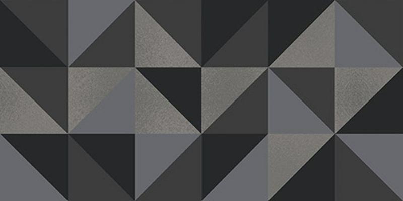 Керамический декор Керлайф Stella Geometrico Grigio 1C 31,5х63 см