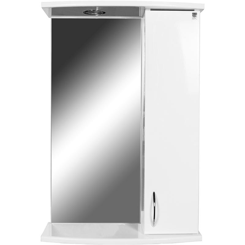 Зеркало со шкафом Orange Диана 50 с подсветкой Белое