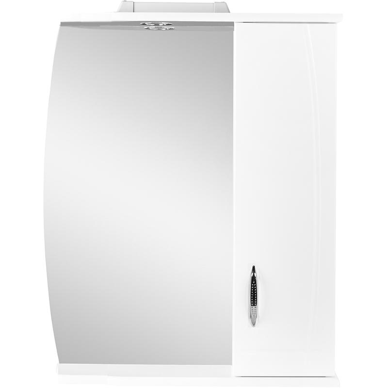 Зеркало со шкафом Orange Софи 60 с подсветкой Белое