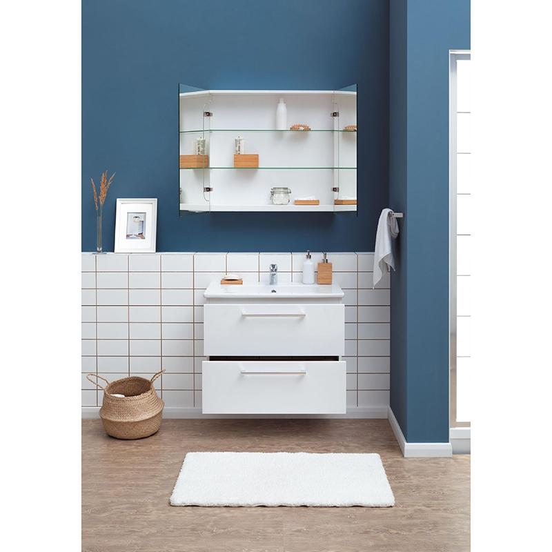 Тумба под раковину Dreja Gio 80 подвесная Белый глянец black oil rubbed brass wall mounted kitchen