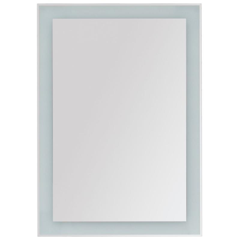 Зеркало Dreja Kvadro 60x85 77.9011W с подсветкой Белое