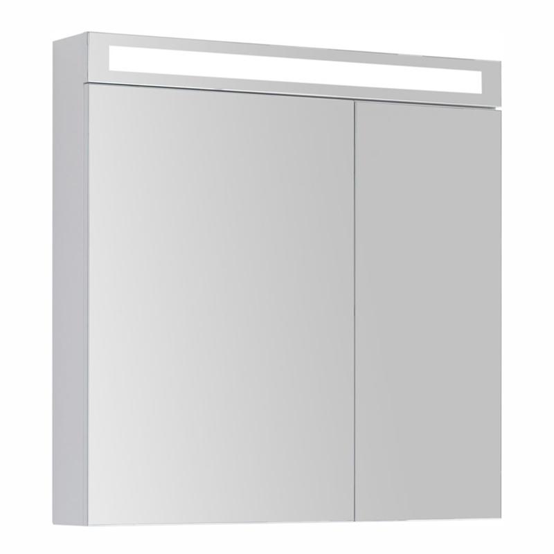 Зеркальный шкаф Dreja Max 80 с LED освещением Дуб кантри