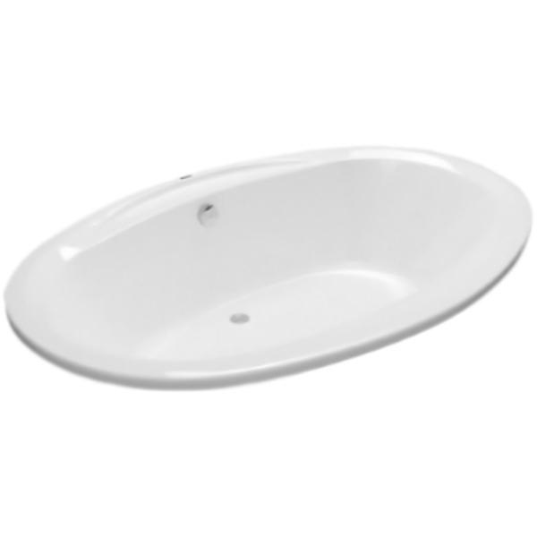 Opal без гидромассажаВанны<br>Vayer Opal овальная акриловая ванна.<br>