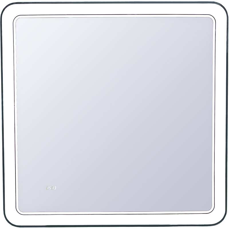 Зеркало Style Line Атлантика 80 СС-00000671 с подсветкой с часами