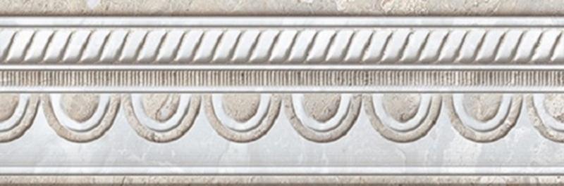 Керамический бордюр Azteca Fontana Cen. Ice 10х30 см