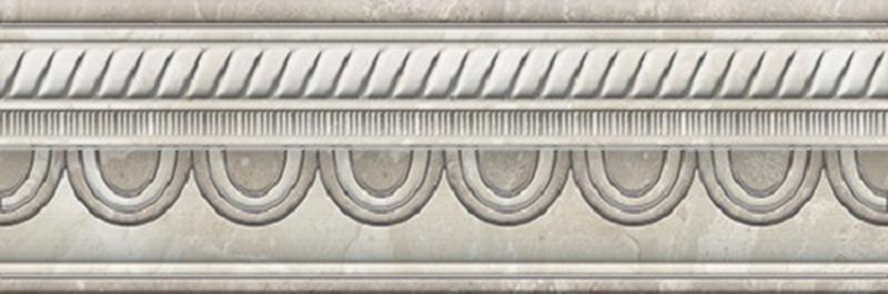 Керамический бордюр Azteca Fontana Cen. Cream 10х30 см