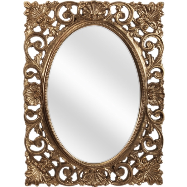 Зеркало Migliore CDB 73 ML.COM-70.721 Золото сусальное
