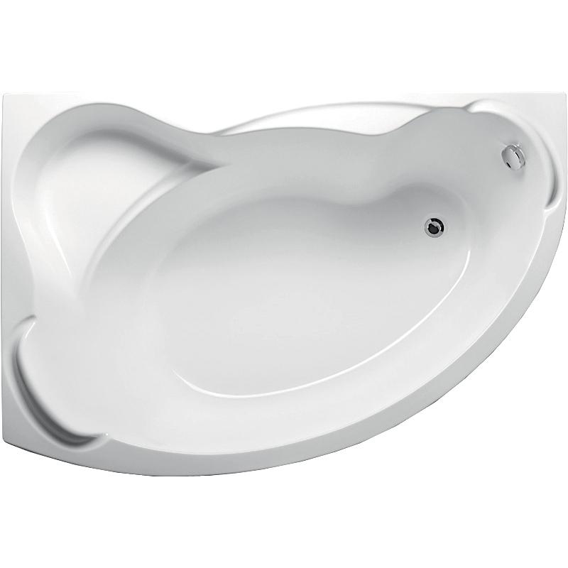 Акриловая ванна 1MarKa Catania 160x110 R с гидромассажем Optimal