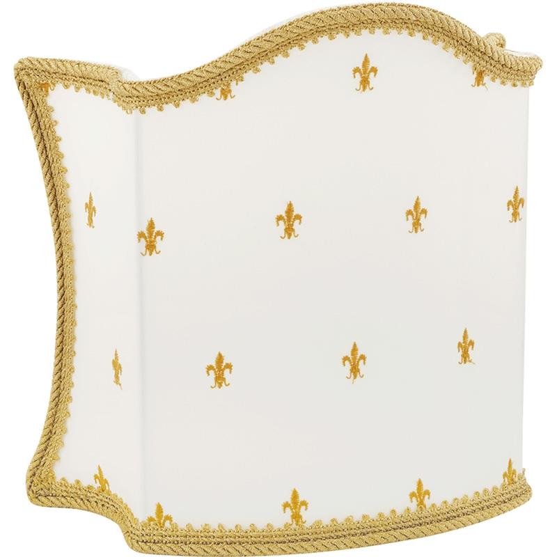 Абажур для светильника Migliore Complementi 683.25 Белый Золото