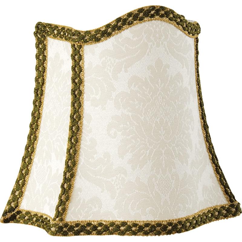Абажур для светильника Migliore Complementi 687.03 Белый Зеленый Золото