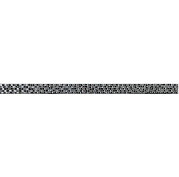 Керамический бордюр Ceramiche Brennero Next List. Ramage Iron 3,2х75 см