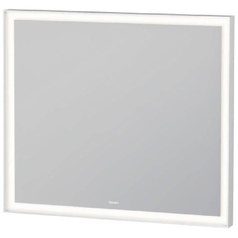 Зеркало Duravit L-Cube 80 с подсветкой Белое