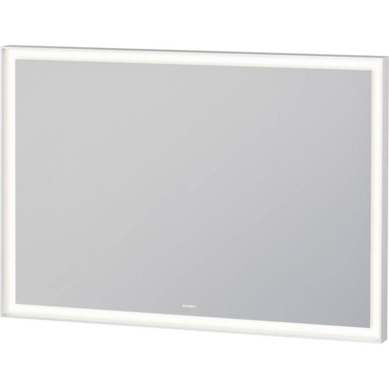 Зеркало Duravit L-Cube 100 LC738200000 с подсветкой Белое