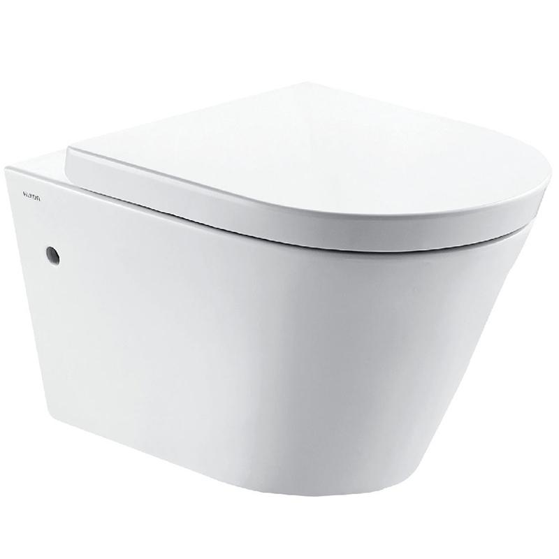 Унитаз Creo Ceramique Creo CR1100R+CR1001 подвесной с сиденьем Микролифт