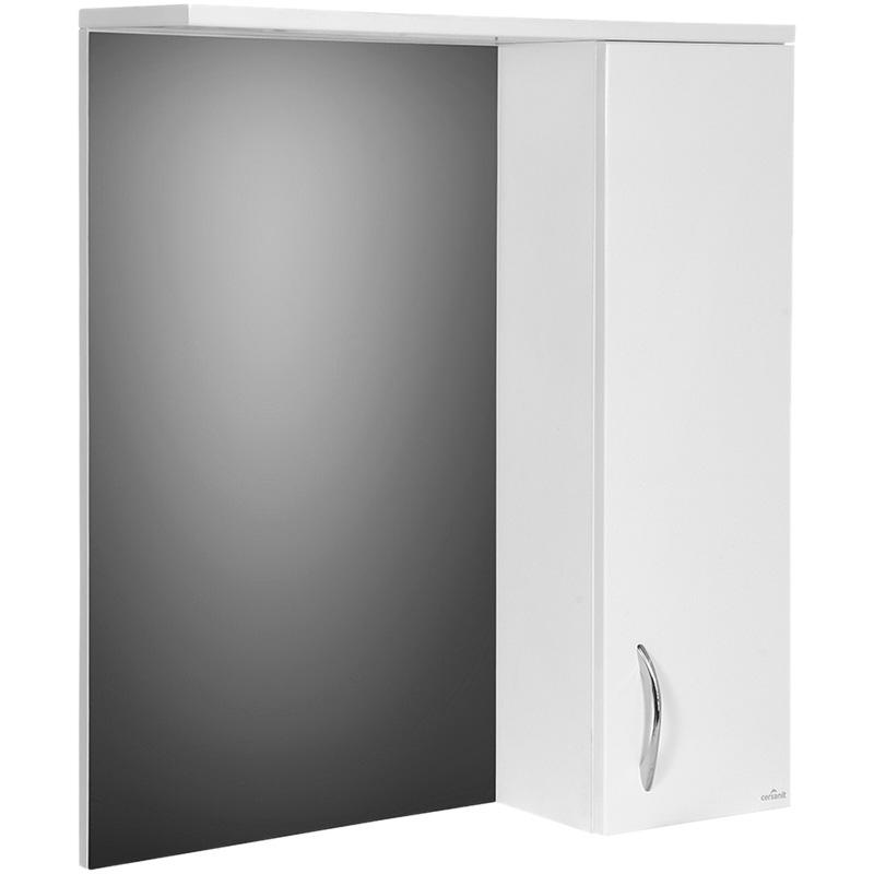 цена Зеркало со шкафом Cersanit Erica 60 R Белый F-LS-ERN60 онлайн в 2017 году