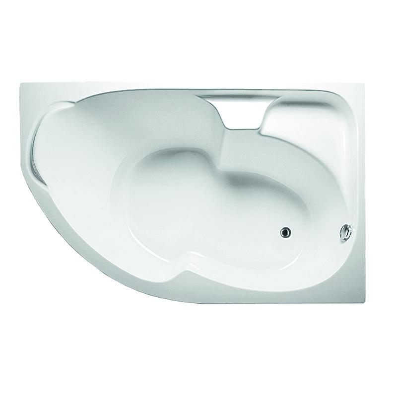Акриловая ванна 1MarKa Diana 170х105 R с гидромассажем Intense