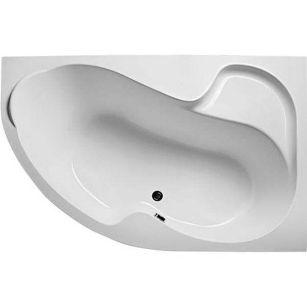 Акриловая ванна Marka One Aura 150x105 R с гидромассажем Intense