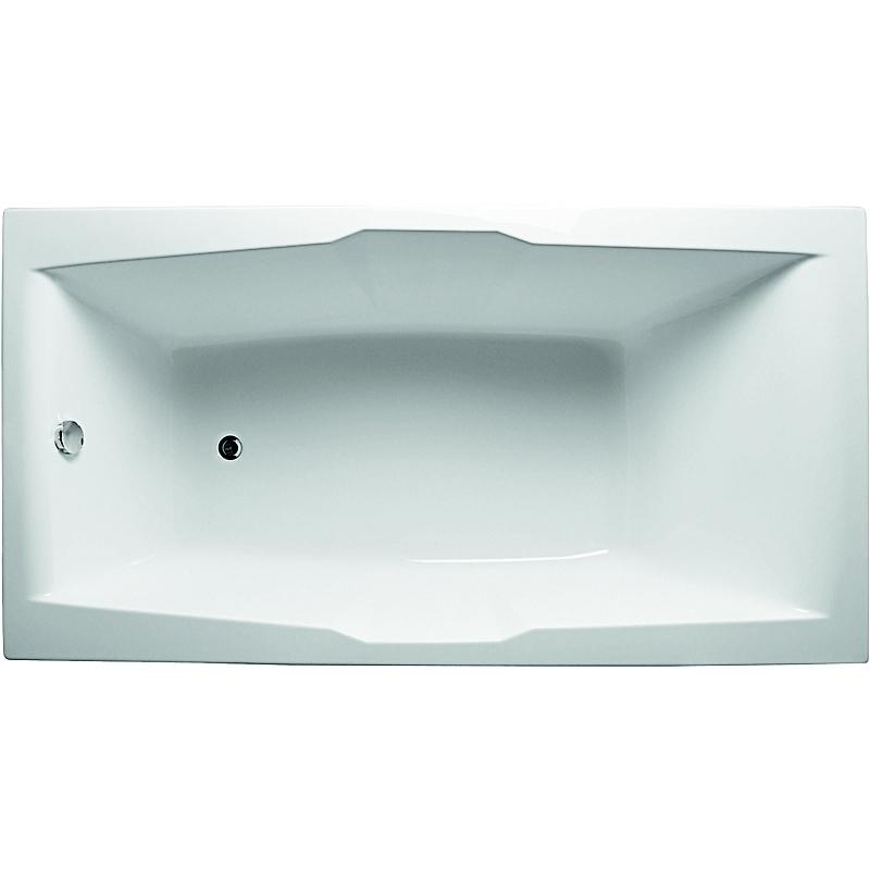 Акриловая ванна 1MarKa Korsika 190x100 без гидромассажа акриловая ванна 190x100 см aquanet vega 00205556